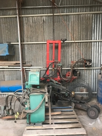 Patterson Hydraulic Saw Pruner & Sharpening Equipment $7,700 inc gst.